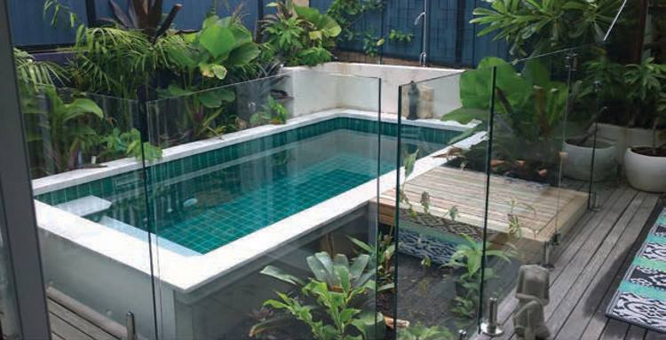 coastal plunge pools give you elegance without needing large amounts of space